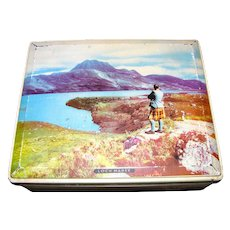 Lovely Vintage British Tin, LOCH MAREE, Edward Sharp & Sons