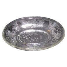 EAPG Oval Relish Dish (Celery), BARBERRY