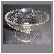 EAPG Sherbet Dish, BARBERRY, (12 Available)