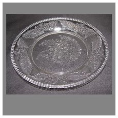 """EAPG Dessert Plate (6""""), BARBERRY, (6 Available)"""