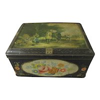 Lovely Large Colman's Mustard Tin Box, HARVEST TIME William Shaver