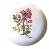 Lovely Floral Plate, Royal Cauldon, Woodstock, SWEET ROCKET
