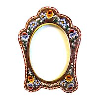 Lovely Table-Top Micro Mosaic Photograph Frame, Italy