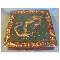 1907 British Biscuit Tin Huntley & Palmers DRAGON