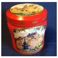 Small Scribbans Kemp Bakery Tin, British Scenes