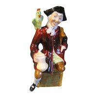 Collectible Staffordshire Figurine, Arthur Bowker's LONG JOHN SILVER