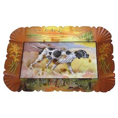 Vintage Small Metal Tray (Tip, Pin, or Card), Young Jingo