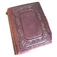 Wonderful Victorian Photo Album, NAUTICAL Theme