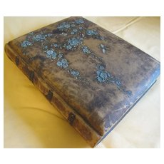 Lovely Embossed Leather Victorian Photo Album