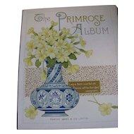 Lovely Victorian Photograph Album, The PRIMROSE Album