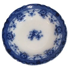 Lovely Flow Blue Soup Plate, TRENT, Ford & Sons, c. 1900