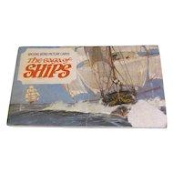 An Album of Picture Cards, The Saga of Ships, Brooke Bond Tea