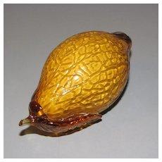 Lovely Piece of Art Glass Fruit/Vegetable