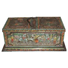 1901 British Biscuit Tin, MOSAIC, Huntley & Palmers