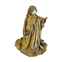 Vintage Paper Mache Angel, Collectible Christmas