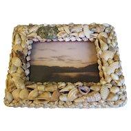 Vintage SeaShell Photograph Frame