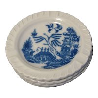 Vintage Blue Willow Individual Ash Tray