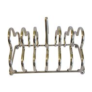 Vintage Silver Plated Toast Rack (Holder)