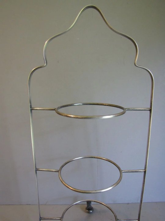 Vintage 3-Tier Silver Plated Cake Stand Birmingham Handicraft & Vintage 3-Tier Silver Plated Cake Stand Birmingham Handicraft SOLD ...