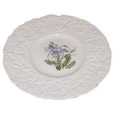 Lovely Floral Plate, Royal Cauldon, Woodstock, ROCK ROSE