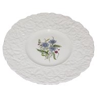 Lovely Floral Plate, Royal Cauldon, Woodstock, CORNFLOWERS