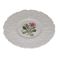 Lovely Floral Plate, Royal Cauldon Woodstock, ROCK PURSLANE