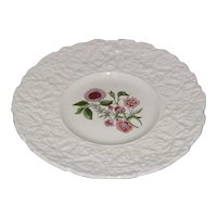 Lovely Floral Plate, Royal Cauldon, Woodstock, PIMPERNEL