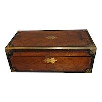 Large 1864 Presentation Writing Box, Lap Desk