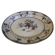 Huge Unusual Platter, Bishop & Stonier, Oriental Children