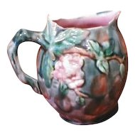 Etruscan Majolica Pitcher, Hawthorne, Multicolor