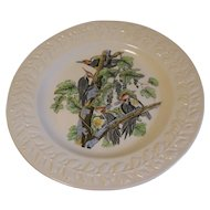 Lovely Large Bird Plate ADAMS Audubon WOODPECKER