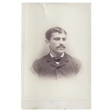 Cabinet Photograph of Young Gentleman, Guyes