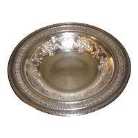 Vintage International Silverplate Candy or Nut Dish