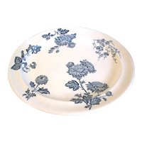 Very Large Antique Transfer Printed Platter, WEDGWOOD