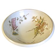 Aesthetic Transferware Wash Bowl, JAPANESE, J. & M. P. Bell