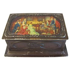 Art Nouveau British Biscuit Tin, MOZART, MacFarlane Lang & Co.