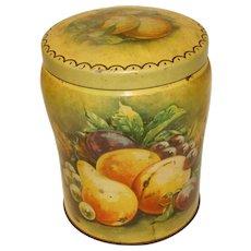Vintage Toffee Tin, THORNE'S, Fruit Still Life