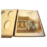 Victorian Photograph Album, 12 Illustrated Pages by K. Crawford, Poetry, M & Co.