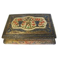 Lovely Vintage Casket Tin, Made in England