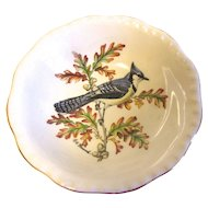 Small Dish (Bowl) Royal Cauldon England BLUEJAY