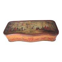 Vintage British Biscuit Tin, McVitie & Price, CHELSEA