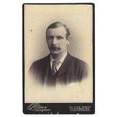 Cabinet Photograph Card Distinguished Young Man