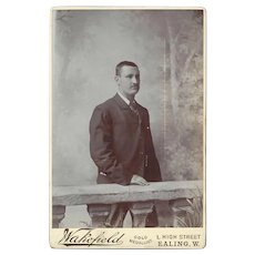 Cabinet Photograph Card, Of a Gentleman