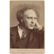 Cabinet Photograph Card, The Rev. Stopford Brooke