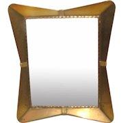 Art Deco Brass Table-Top Photograph Frame.
