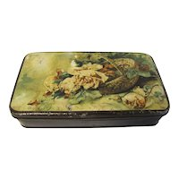 Lovely Vintage Thorne's Toffee Tin, Roses