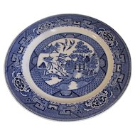 Homer Laughlin Blue Willow Dinner Plate