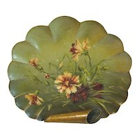 Lovely Antique Tole Tray, Wall Hanging