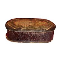 Most Unusual Papier Mache Trinket Box