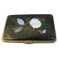 Wonderful Papier Mache Ladies Purse, Civil War Provenance